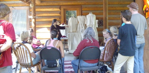 Joybilee Farm History of Linen Workshop
