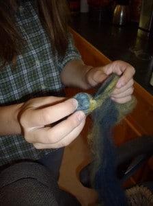 Wool dryer ball 2