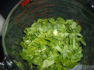 Florentine Bread Spinach