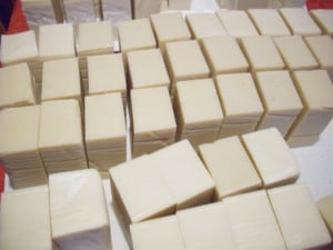 soap ready to package