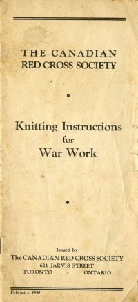 Knitting Instructions Red Cross 1
