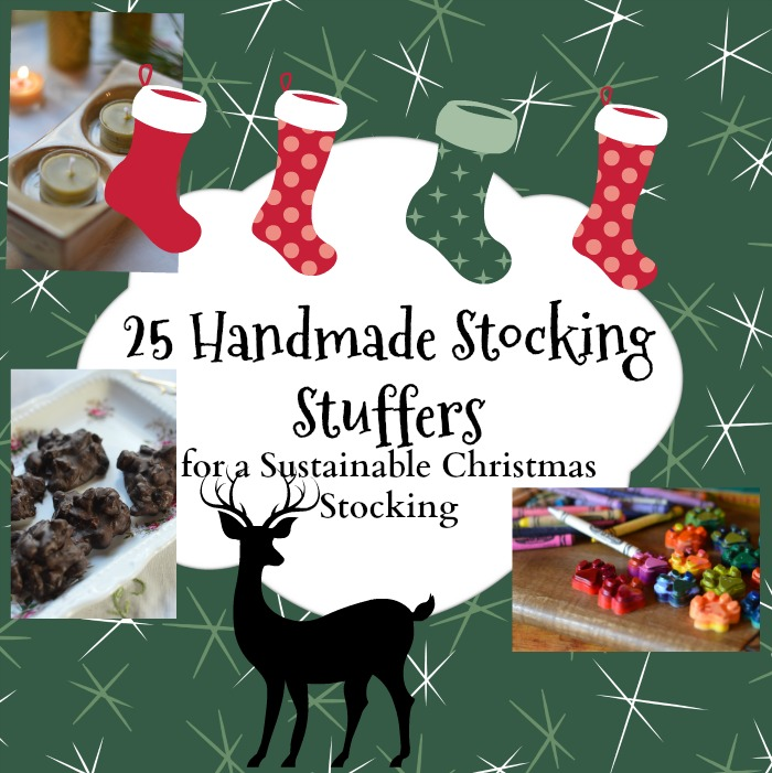 Quick to make handmade gifts for thoughtful stocking stuffers.