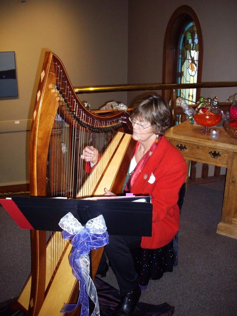 Jenn Fenn on Harp