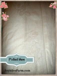 Characteristics of linen