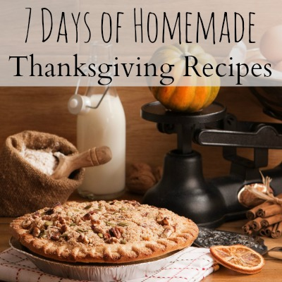 Homemade Thanksgiving-Recipes