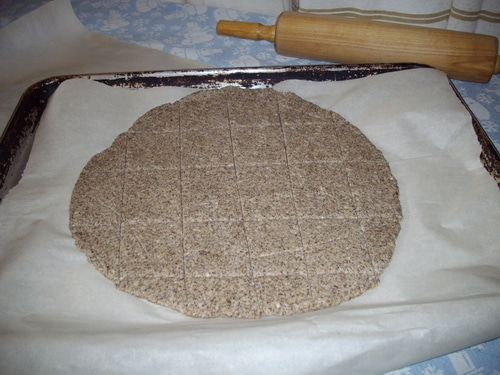 GF Flax crackers