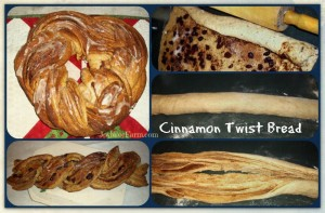 Cinnamon Twist Bread for Breakfast