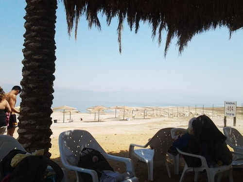 Dead Sea Israel 2 by Sarah