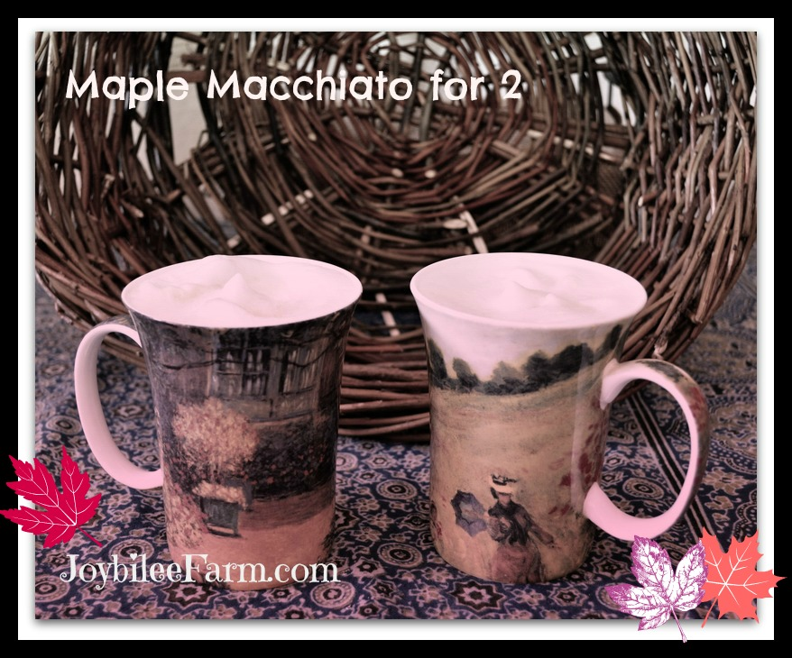 Maple Machiato for 2 and a Giveaway