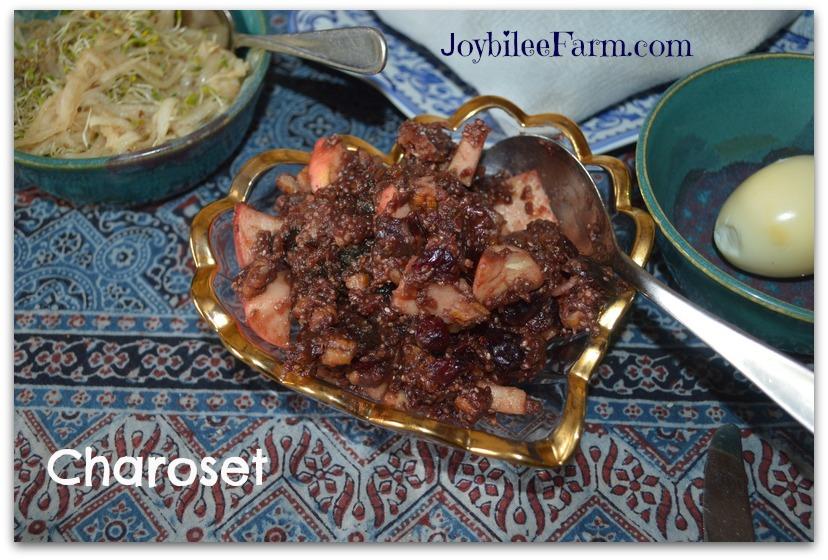 Passover charoseth
