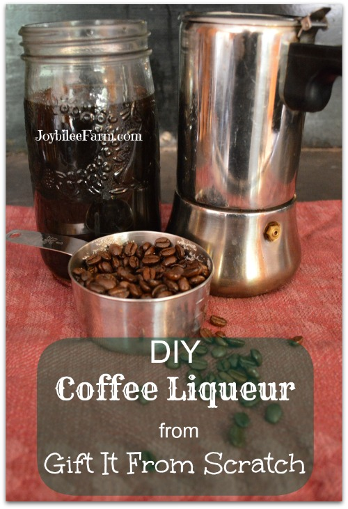 DIY Coffee Liqueur