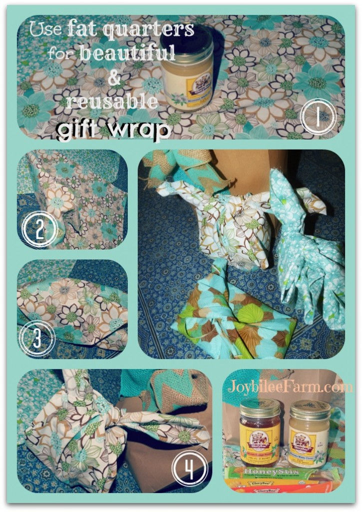Furoshiki - the ancient art of cloth gift wrap