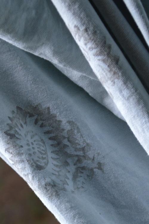 Tshirt bag embellishment