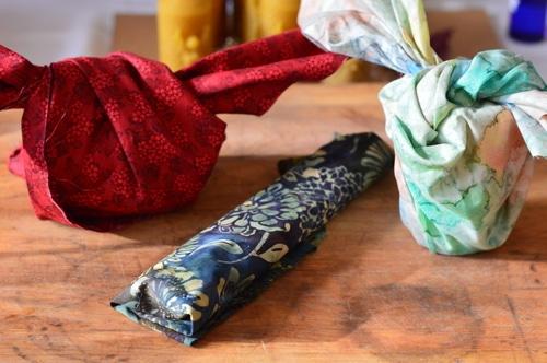 furoshiki gift wrap horizontal