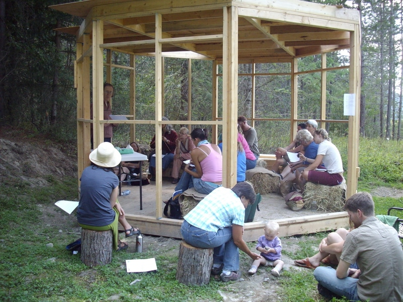 cottage as a workshop