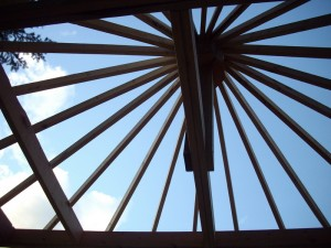 cottage roof beams