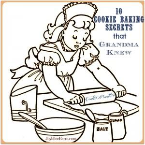 10 Cookie Baking Secrets that Grandma Knew