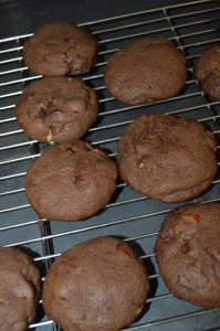 Triple chocolate chip cookies 5