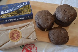 Triple chocolate chip cookies with Rogers White Baking chocolate