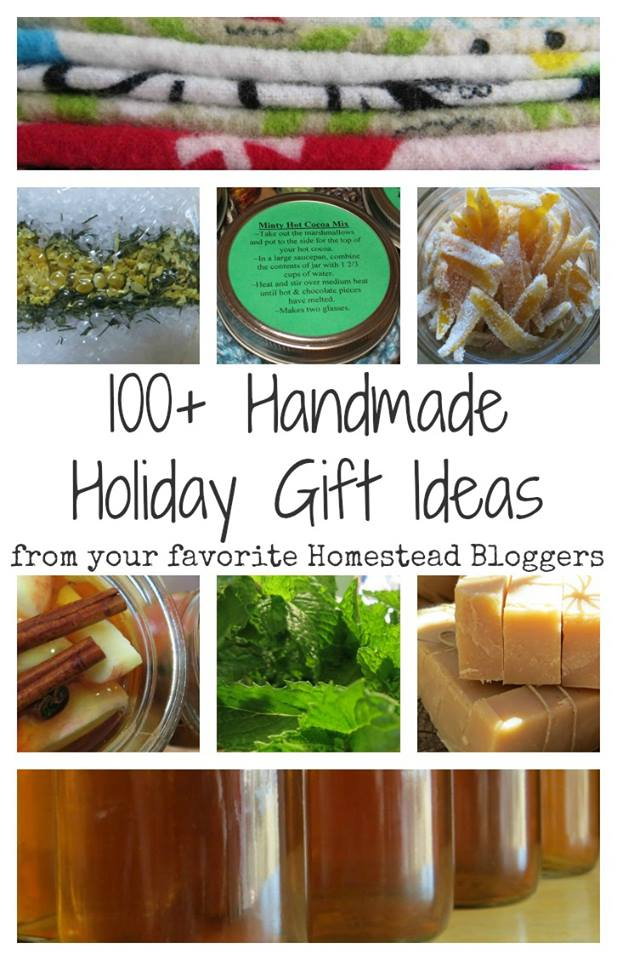 100 plus Handmade Holiday Gifts