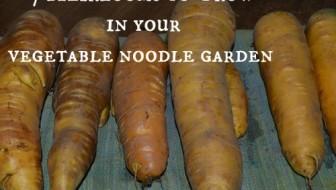 7 Heirlooms to grow in your Vegetable Noodle Garden - Joybilee Farm