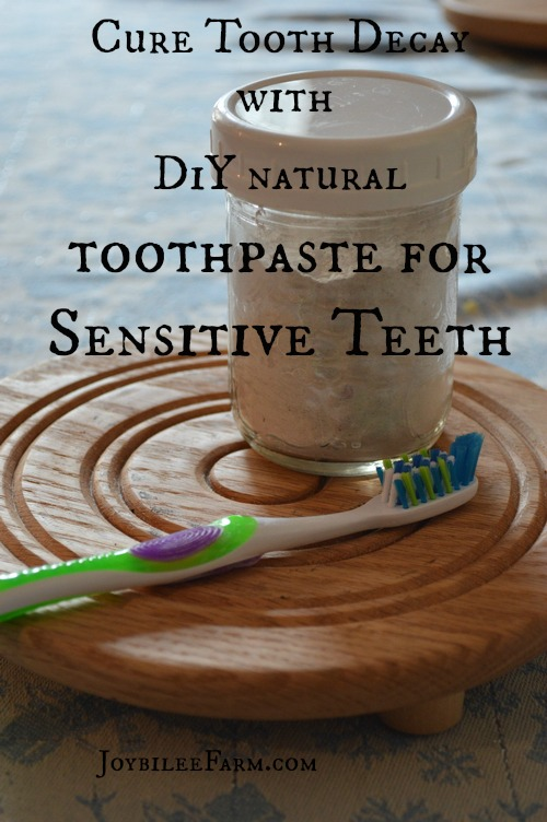 Cure Tooth Decay with this DIY remineralizing toothpaste
