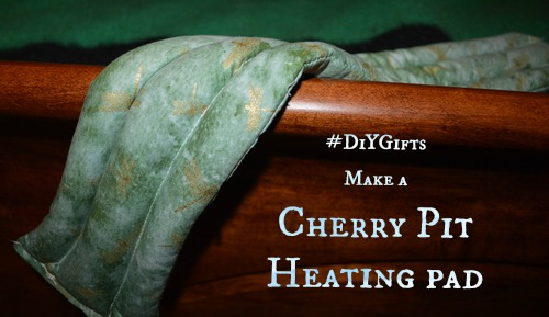 Make a cherry pit heating pad