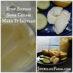 How to make sour cream -- Joybilee Farm
