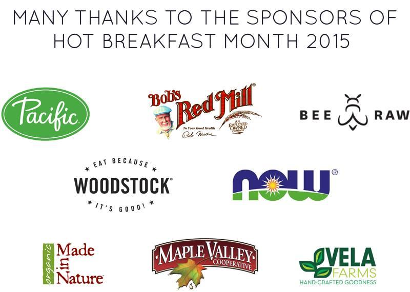 #hotforbreakfast sponsors