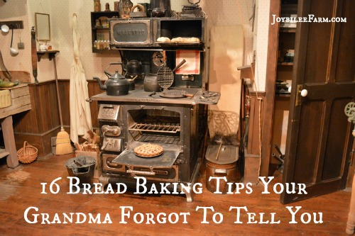 16 Bread Baking Tips Your Grandma Forgot To Tell You -- Joybilee Farm