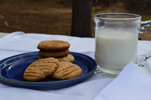 Easy Peanut Butter Cookies -- Joybilee Farm