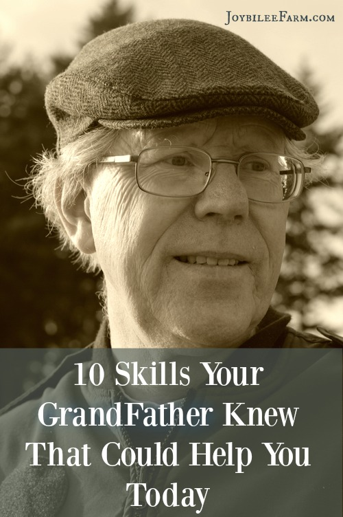 The savvy skills and knowledge learned in their youth were less about socializing and more about the essentials for their survival and success in the world. If you have the opportunity, ask them to tell you about outdoor skills or read about them to pick up some skills that grandpa knew. Let's look at 10 skills that your grandpa probably had that are still useful today.