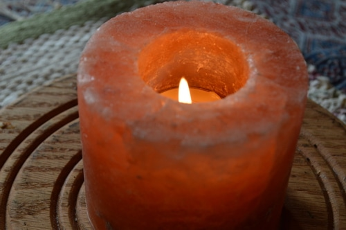 How to make a candle beeswax tea lights