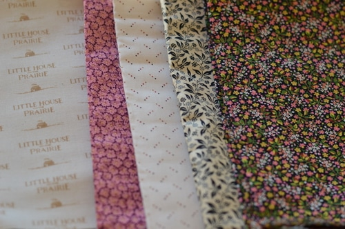 Little House fabric