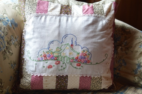 Little House on the Prairie Pillow