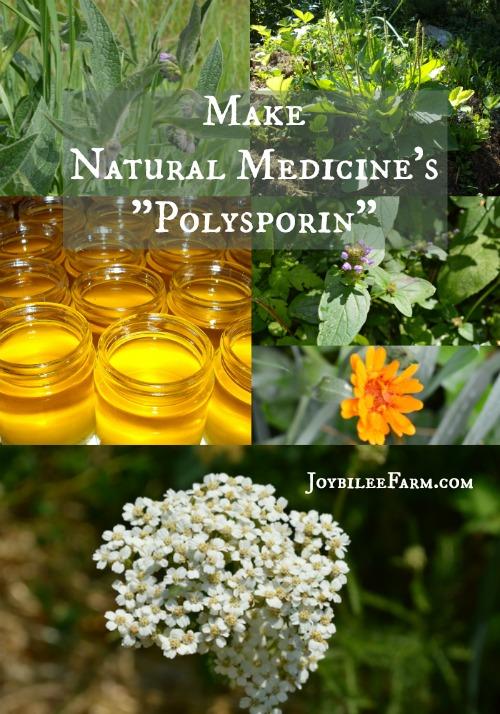 Natural Medicines Polysporin