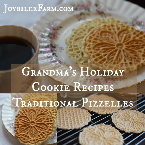 Cookie recipe using anise seeds