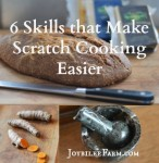 6 Basic Skills that Make Scratch Cooking Easier