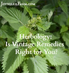 Herbology:  Is Vintage Remedies Right for You?