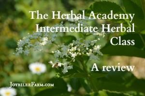 "Herbology: The Herbal Academy – ""Intermediate Herbal Class"""