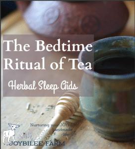 Natural Sleep Aids — Bedtime Tea