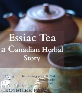 Essiac Tea, a Canadian Herbal Story