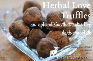 A recipe for Herbal Love Truffles