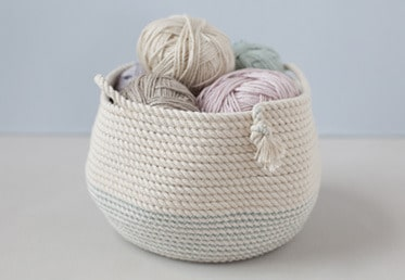 Screen shot of Rope Basket on Creative Bug site