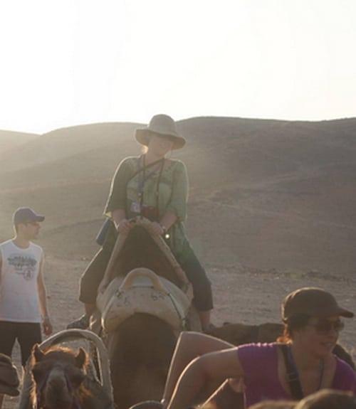 sarah on a camel2