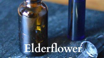 Elderflower Anti-aging Serum for Older Complexions