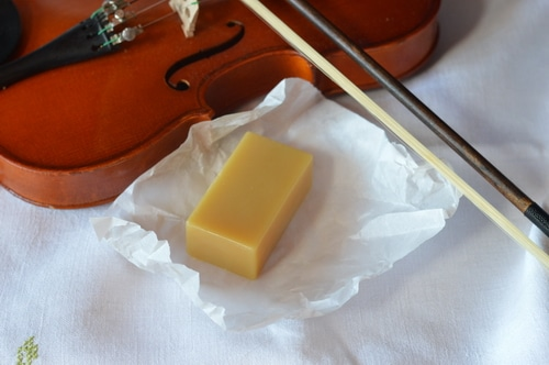 violin rosin made from beeswax