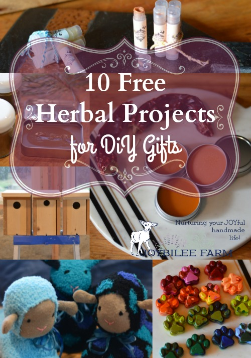 10 Free Herbal Projects for DiY Gifts