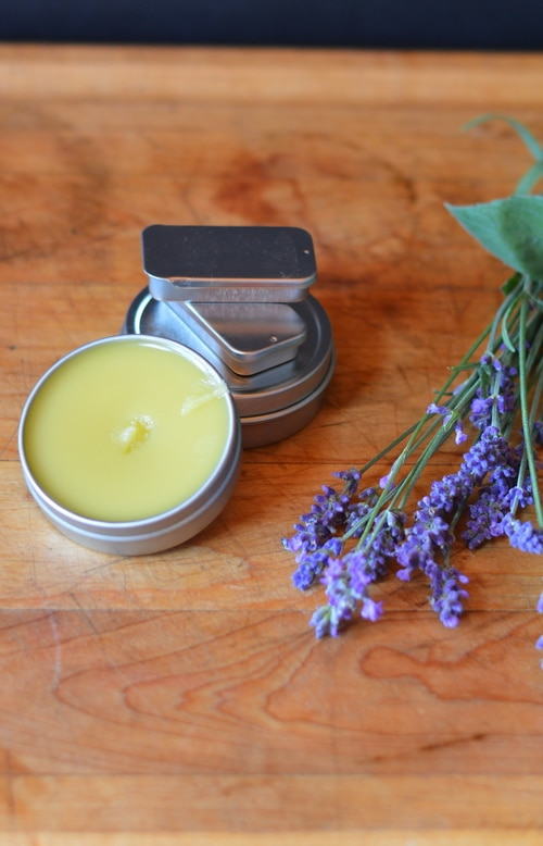 Make an herbal salve to help the bunny heal.