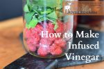 How to Make Infused Vinegar from Fresh Berries